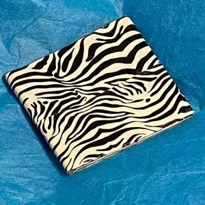 NWOT Zebra Stripe Pattern Duct Tape Wallet